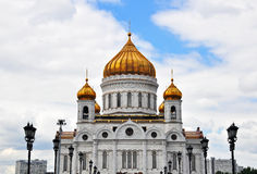 Main russian cathedral Stock Photos