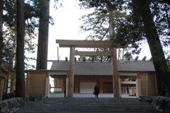 Main sanctuary of Ise shrine Royalty Free Stock Image