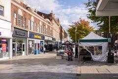 Main shopping mall in St Helens Merseyside