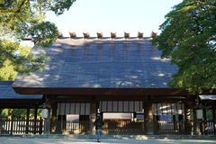 Main Shrine of Atsuta shrine Stock Photography