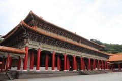 Main shrine of national revolutionary martyrs` shrine in Taiwan Royalty Free Stock Photos