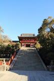 Main shrine of Tsurugaoka Hachimangu shrine Royalty Free Stock Images