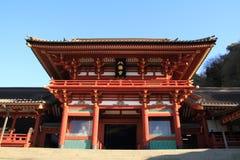 Main shrine of Tsurugaoka Hachimangu shrine Stock Photos