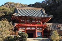 Main shrine of Tsurugaoka Hachimangu shrine Royalty Free Stock Photo