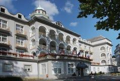 Main Spa hotel Stock Photo