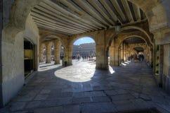 Main Square, Arch Stock Photo