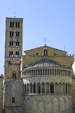 Main Square of Arezzo - Italy Royalty Free Stock Photos