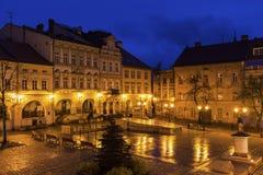 Main Square in Bielsko-Biala Stock Photos