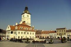 Main square in Brasov Stock Photography