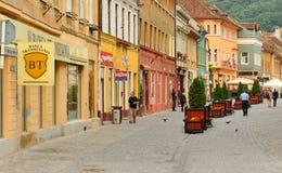 Main square in Brasov, Romania Royalty Free Stock Image