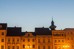 Main Square of Ceske Budejovice Royalty Free Stock Images