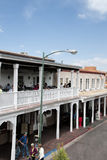 Main Square in the City of Santa Fe In New Mexico Stock Photo