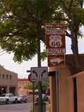Main square in the City of Santa Fe In New Mexico Royalty Free Stock Images
