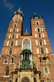 The main square of Cracow, Poland Royalty Free Stock Images