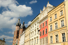 The main square of Cracow, Poland Royalty Free Stock Image