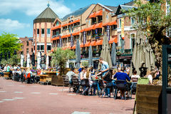 Main square of Eindhoven Royalty Free Stock Photography