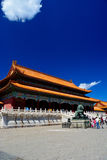 Main square in forbidden city in Beijing Royalty Free Stock Photo