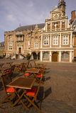 Main square in Haarlem Royalty Free Stock Photography