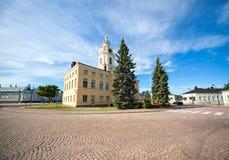 Main square of Hamina Stock Photography