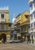 Main Square of Historic Center of Cartagena Colombia Stock Photos