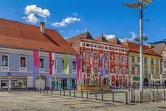 Free Main Square In Leoben, Austria Royalty Free Stock Image - 79124086