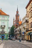Main square in Kalisz, one of the oldest city in Poland Stock Photography