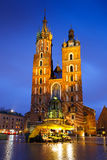 Main square in Krakow. Stock Photo