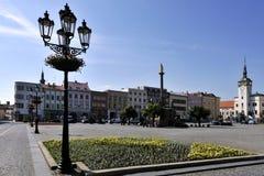 Main Square of Kromeriz Stock Image