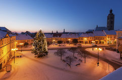 Main Square of Kutna Hora Stock Photography