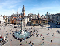 Main square of Lille, France Stock Photo