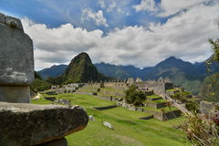 The main square. Machu Picchu. Peru Royalty Free Stock Photography