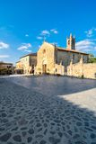 Main square in Monteriggioni, Siena Royalty Free Stock Photo