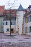 Main square of Mulhouse, France Royalty Free Stock Photo