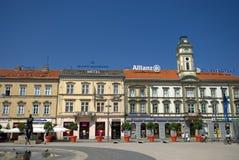 Main square, Osijek, Croatia Stock Images