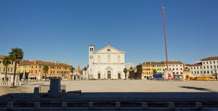 Main Square in Palmanova Stock Photos