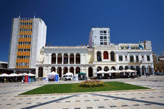 Main square in Patras. Stock Photos