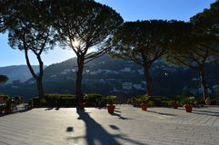 The main square of Ravello, Italy Royalty Free Stock Images