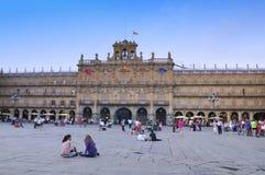 Main square, Salamanca. Stock Images