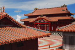 Main square at Shuri Castle Stock Photography