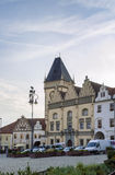 Main square of Tabor, Czech republic Royalty Free Stock Image