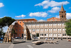 The main square in Tivoli Stock Photography