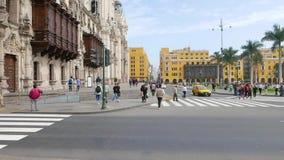 Main square Union Club view Lima Peru
