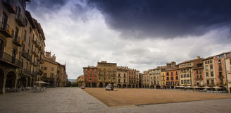 The main square of Vic Stock Image