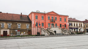 Main square in Wieliczka Royalty Free Stock Photography