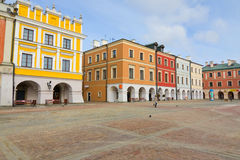Main Square in Zamosc, Poland Stock Photography