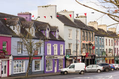 Main St. Kenmare. Kerry. Ireland. Colourful buildings in Main St. Kenmare. county Kerry. Ireland Stock Photos