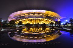 The Main Stadium in Guangxi Sports Center Stock Images