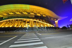 The Main Stadium in Guangxi Sports Center Royalty Free Stock Photo