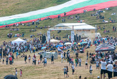 Main Stage Bulgarian folklore festival Stock Photography
