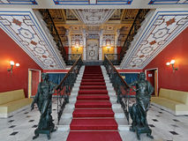 The main staircase in Achilleion palace, Corfu, Greece 2 Royalty Free Stock Photo